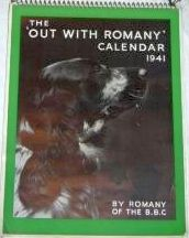 Out with Romany Calendar 1941
