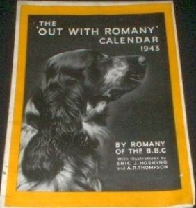 Out with Romany Calendar 1943